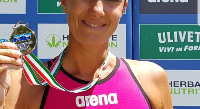 Tris di medaglie ai Master di Riccione per Stefania Valdrighi