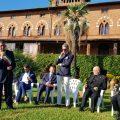 Il Sindaco Franco Mungai a Villa Ginori per Valigia Diplomatica