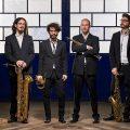 Midnight saxofone quartet