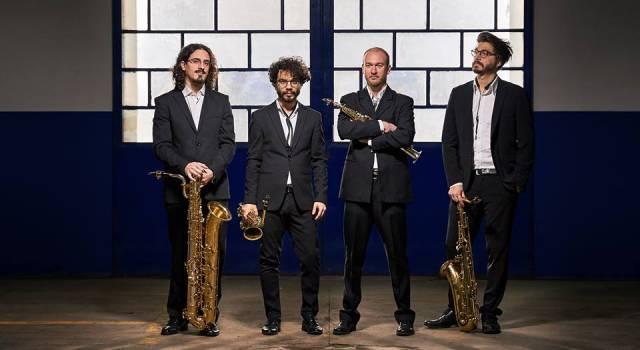 Successo per il Midnight Saxofone Quartet al Massarosa Music Fest
