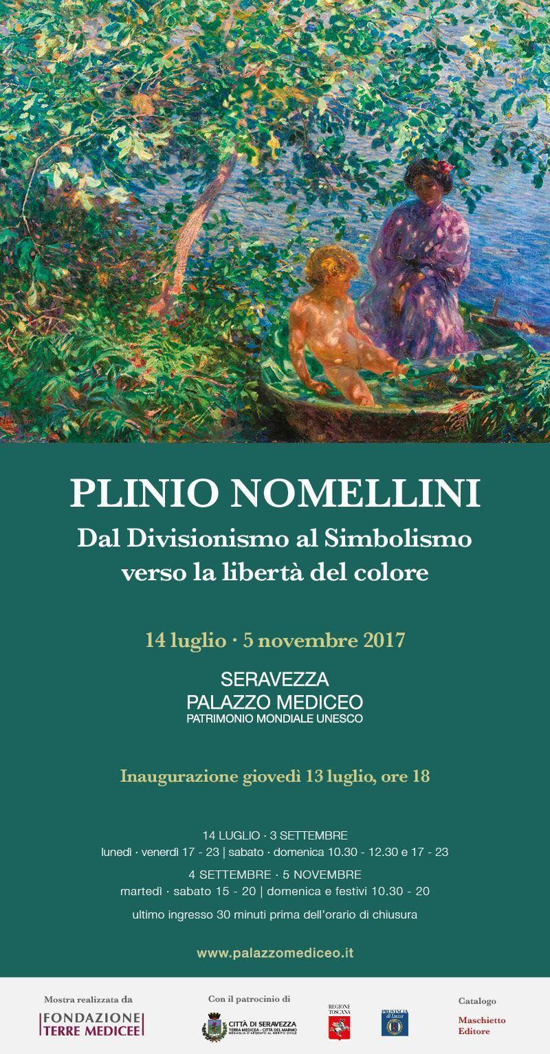 Dal Divisionismo al Simbolismo verso la libertà del colore, Plinio Nomellini a Palazzo Mediceo