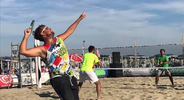 """Beach tennis, entra nel vivo il """"Città di Viareggio"""""""