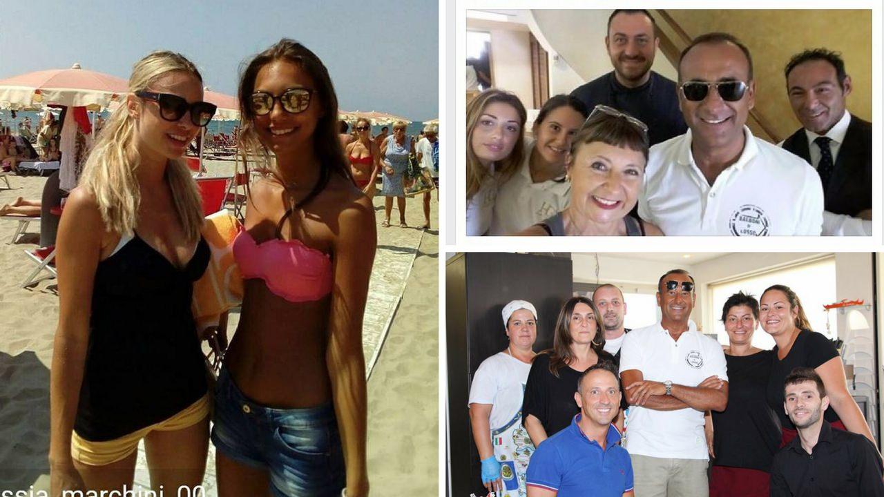 Carlo conti e martina stella a lido di camaiore cronaca camaiore life style top news - Bagno venezia lido di camaiore ...