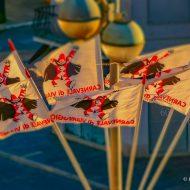 Bandiere a Viareggio