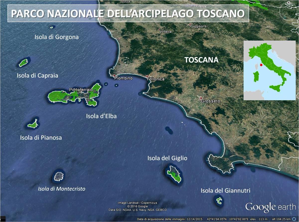 Sì Toscana chiede l'istituzione dell'area marina protetta dell'arcipelago toscano