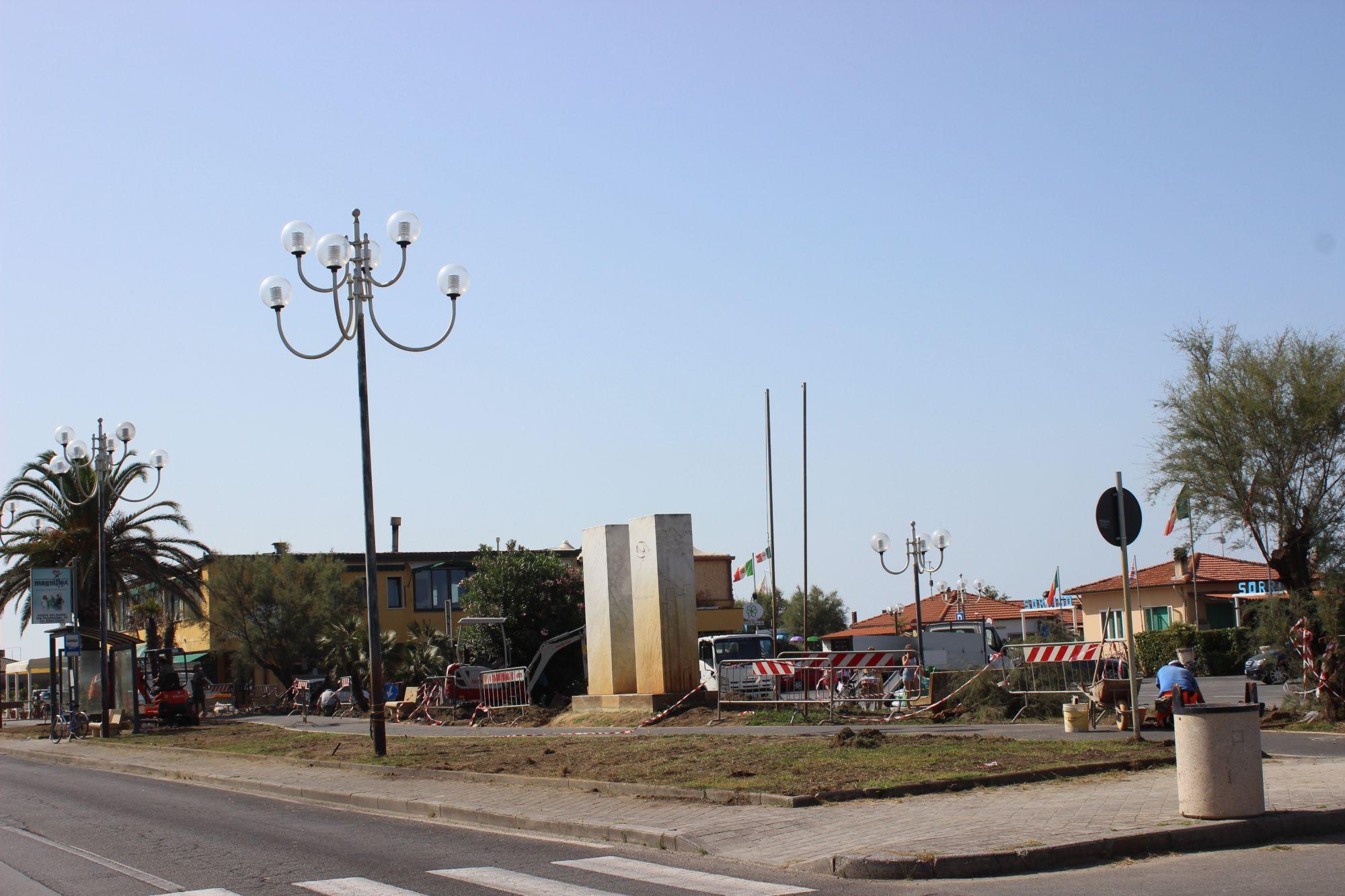 Ultimi ritocchi per la ciclabile di Marina di Pietrasanta