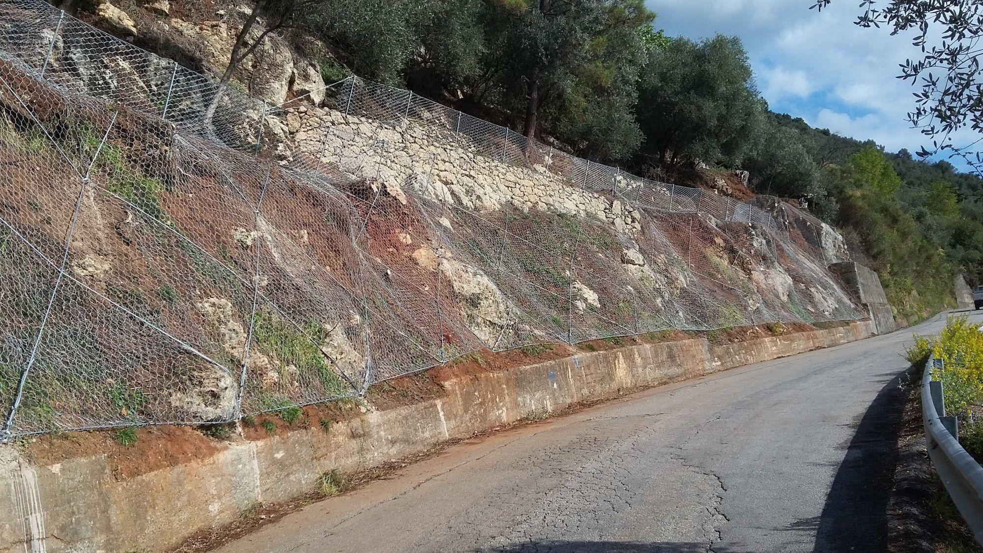 Continuano i lavori sulla strada per il Parco Nazionale della Pace di Sant'Anna