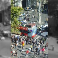 PD, manifestazione-lampo simbolica contro il terrorismo