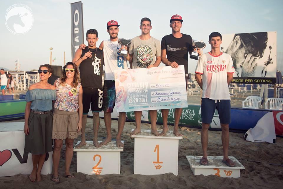 """Beach tennis, successo per la settima edizione del """"Città di Viareggio"""""""
