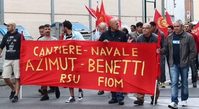 Azimut Benetti, a Viareggio situazione incerta: a Livorno anche la vetroresina