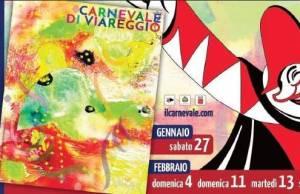 Biglietto carnevale di viareggi 2018 Renato Missaglia