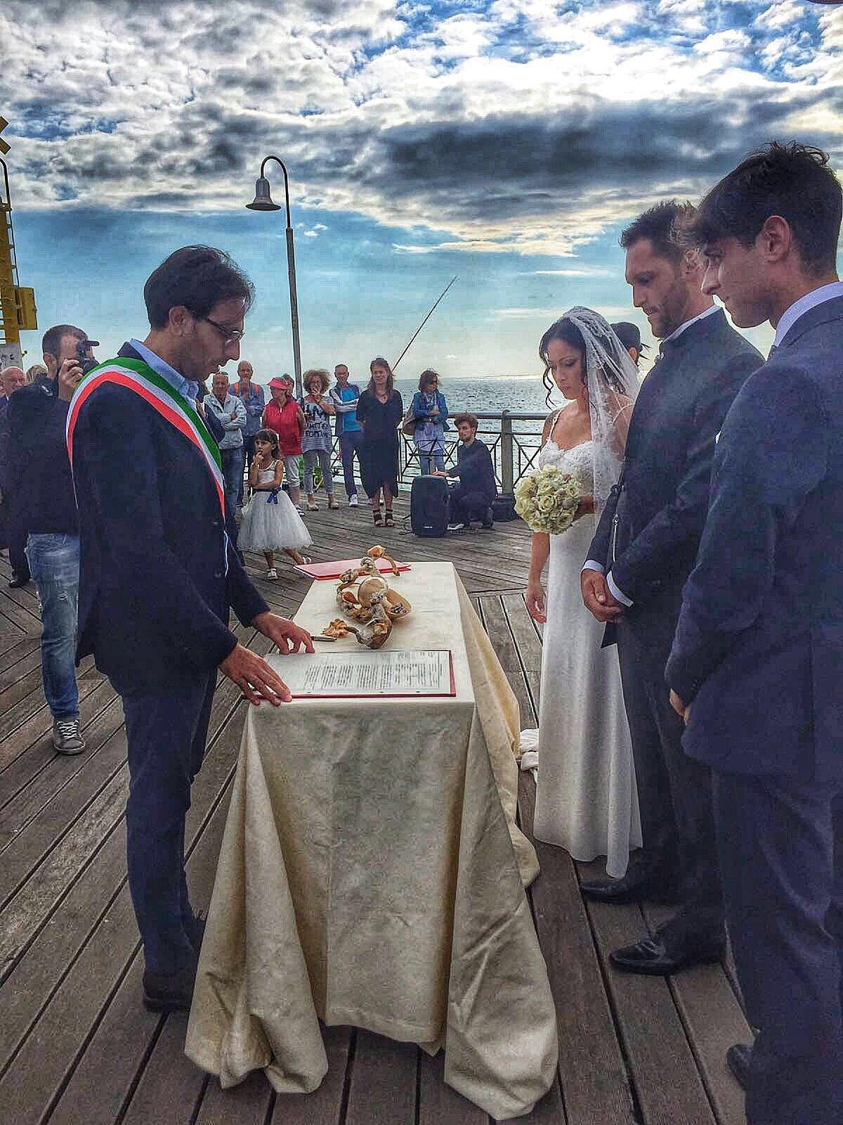 Foto Matrimonio sul pontile