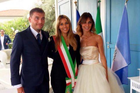 Prime nozze (con testimoni vip) al Club Velico