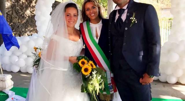 Prime nozze nella casa comunale di Capezzano Monte