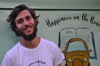 Happiness on the road libreria itinerante