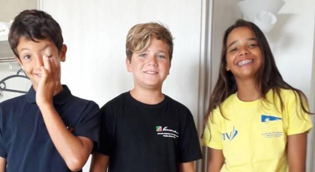 Gli Juniores della Scuola vela Mankin tengono alti i colori della Versilia
