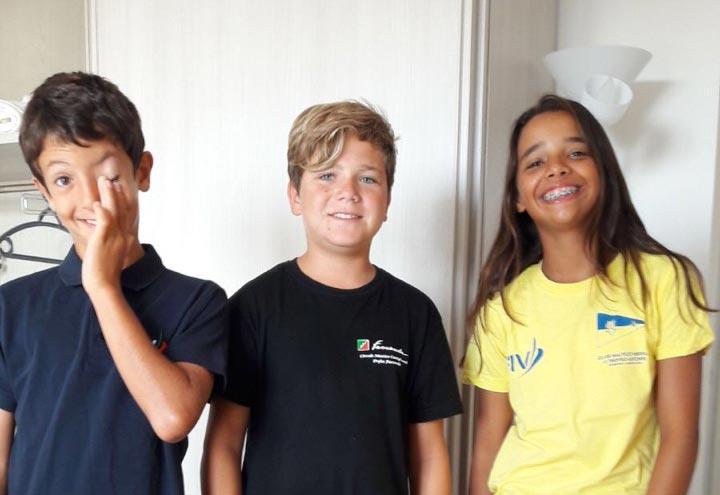 juniores Scuola Vela Mankin