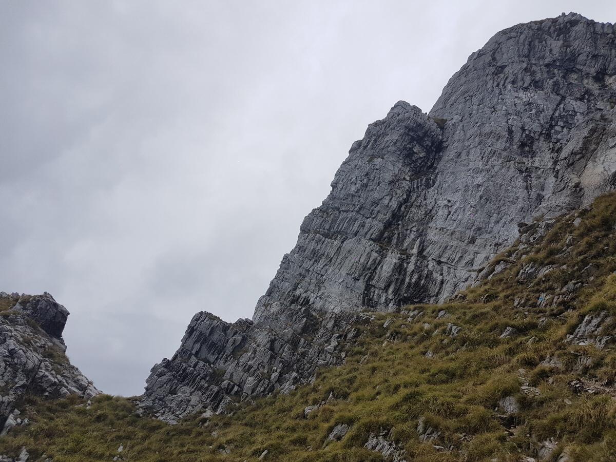 Monte Corchia, canale del Pirosetto e Mosceta
