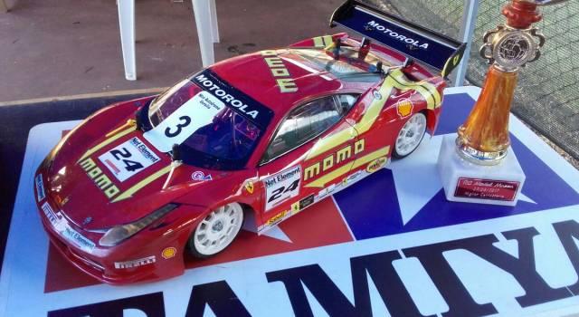 Modellismo, Daniele Pacini vince nel nuovo mini autodromo di Massa