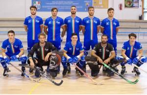 italia batte francia nazionale hockey pista