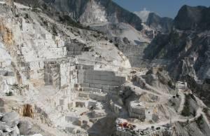 spreco idrico in versilia cave marmo