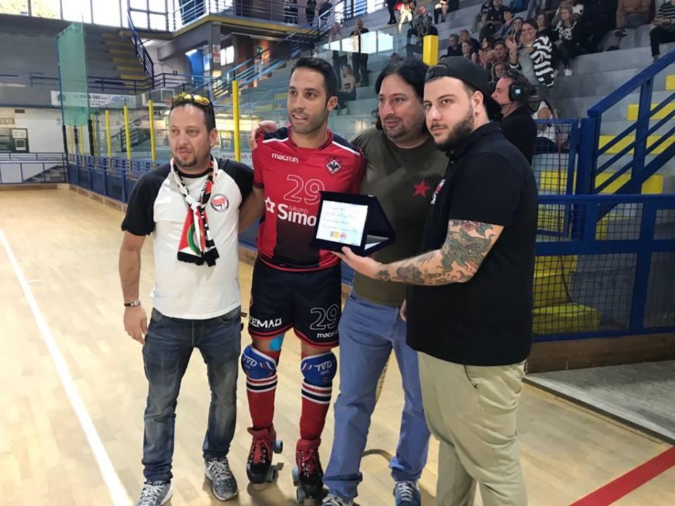 Hockey, targa all'ex giocatore Cgc Jepi Selva e solidarietà alla Catalogna