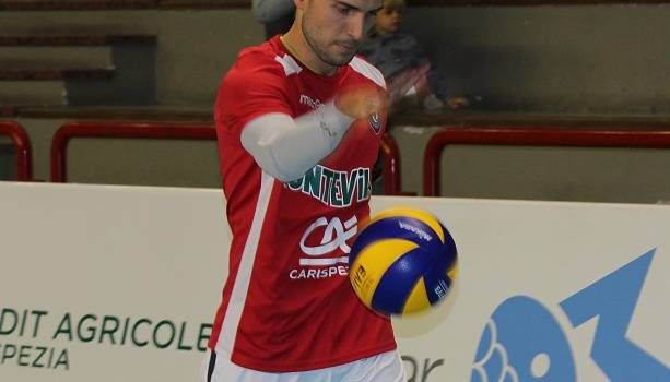 """Volley, la soddisfazione di Riccardo Bortolini: """"Tre punti importanti"""""""