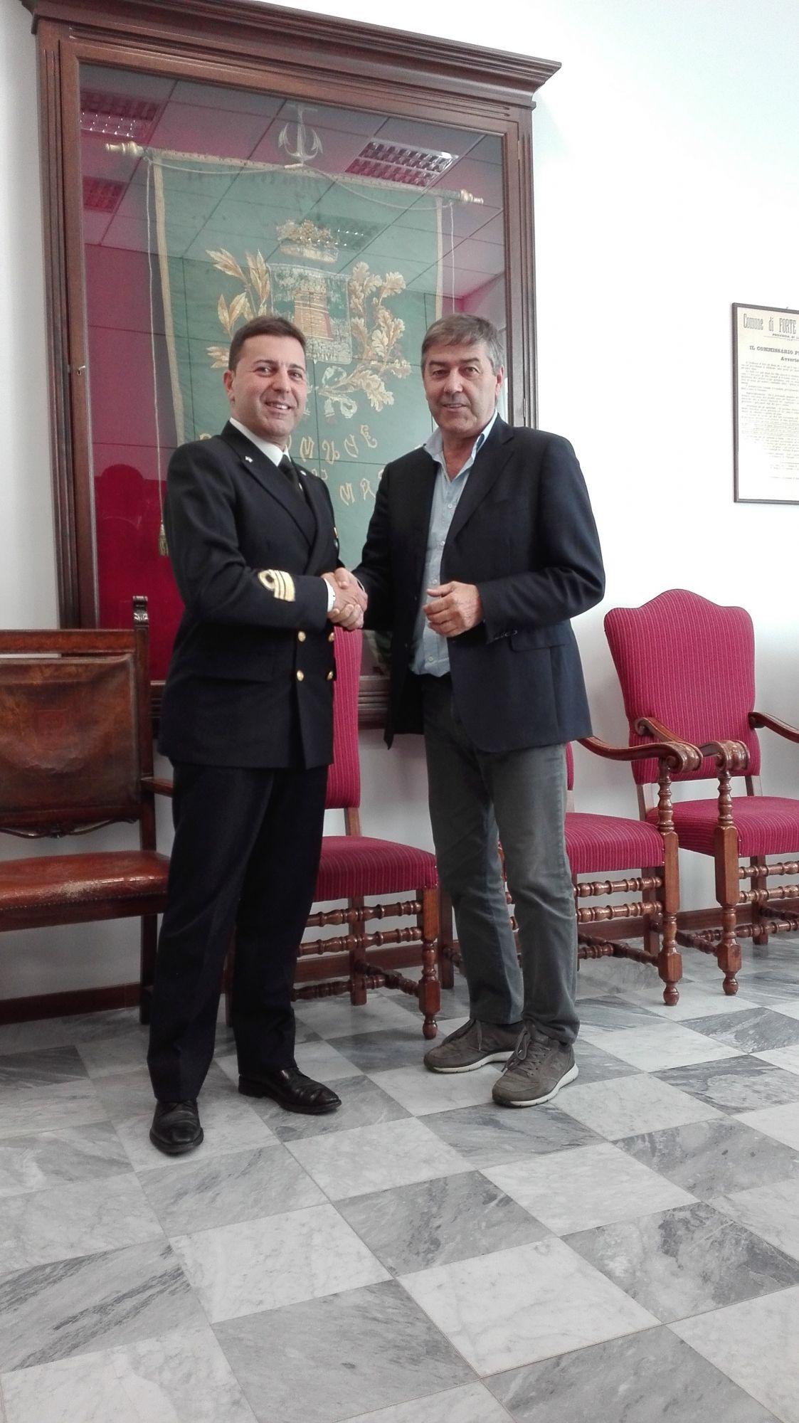 Incontro tra il sindaco Murzi e il nuovo Comandante della Capitaneria di Porto