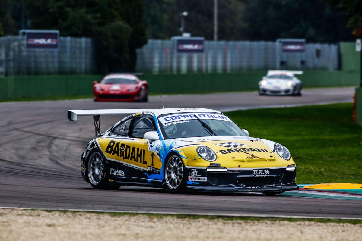 Db motorsport protagonista a Imola, grande gara per il pilota lucchese