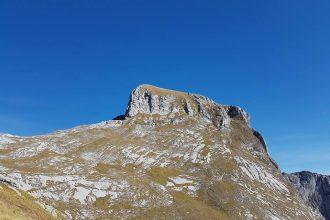 Monte Sumbra da Passo Contapecore