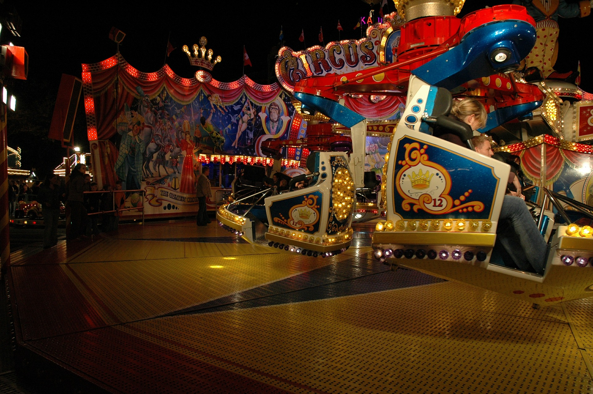 Ingresso gratuito per bambini e disabili al Luna Park di Forte dei Marmi