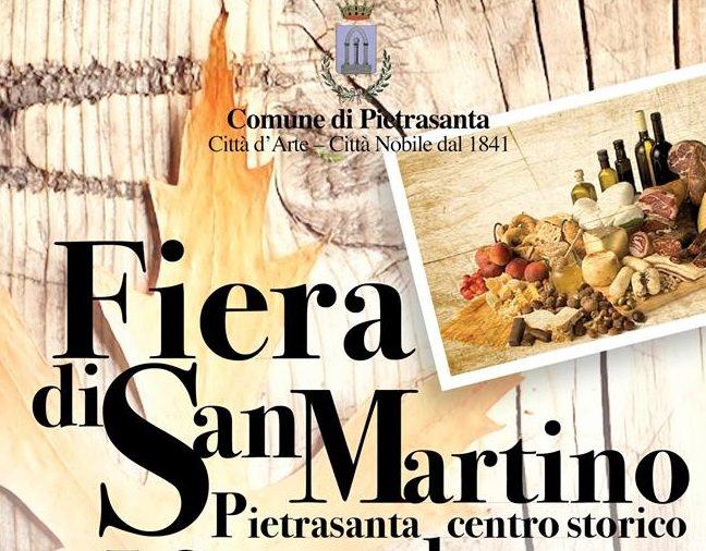 Fiera di San Martino 2017, menù speciali nei ristoranti di Pietrasanta