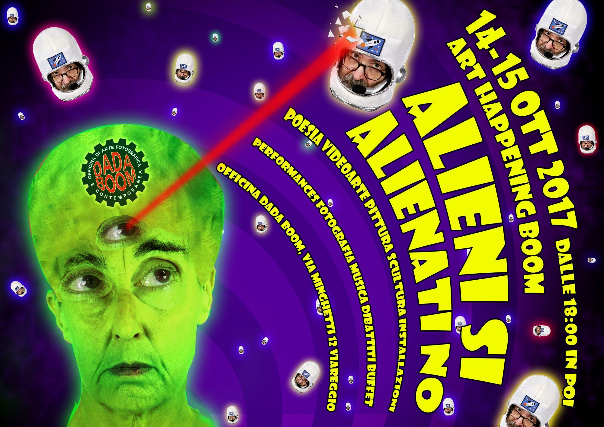"""""""Alieni si Alienati no!"""" all'Officina Dada Boom"""