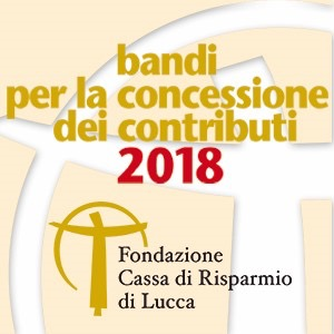 Al via il bando generico per progetti vari della Cassa di Risparmio di Lucca