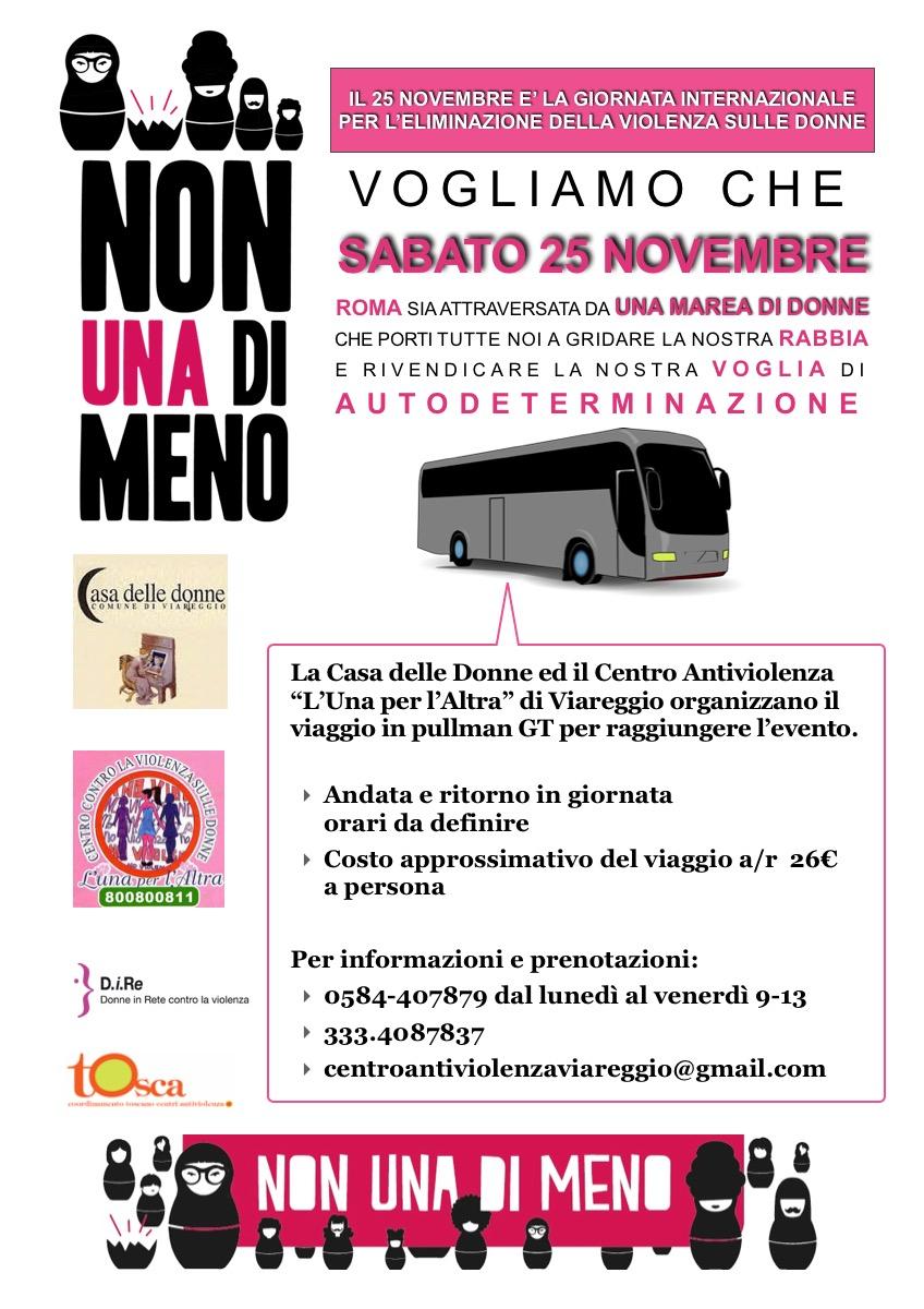 Nonunadimeno, a Roma alla manifestazione contro la violenza sulle donne