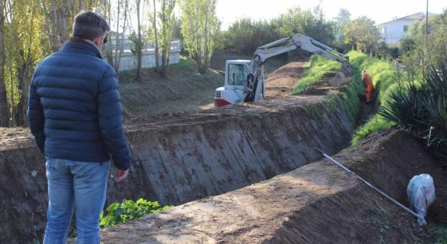 Danni idrogeologici, partiti gli interventi di manutenzione