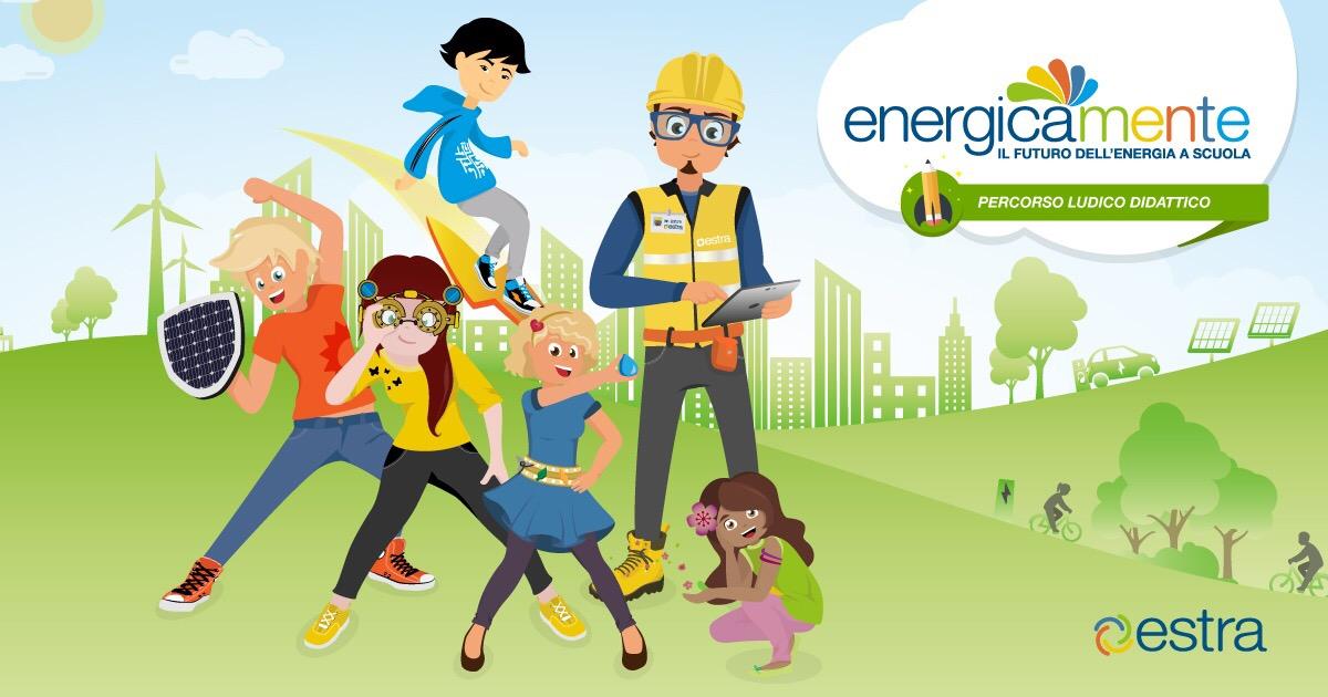 Energicamente, la piattaforma che insegna  la sostenibilità e il rispetto per l'ambiente