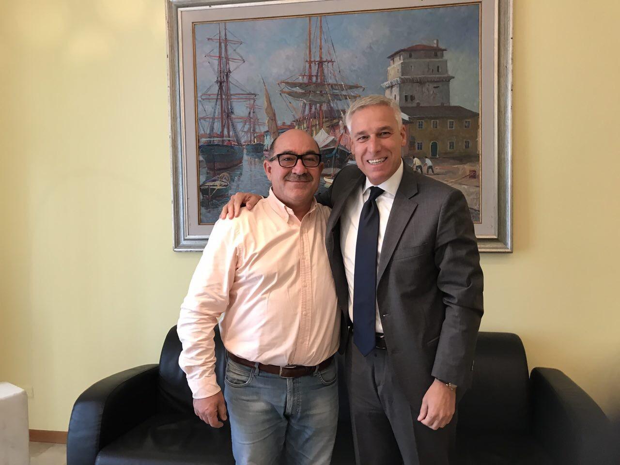 Buon compleanno Cgc, l'incontro fra il sindaco Del Ghingaro e il Presidente Palagi