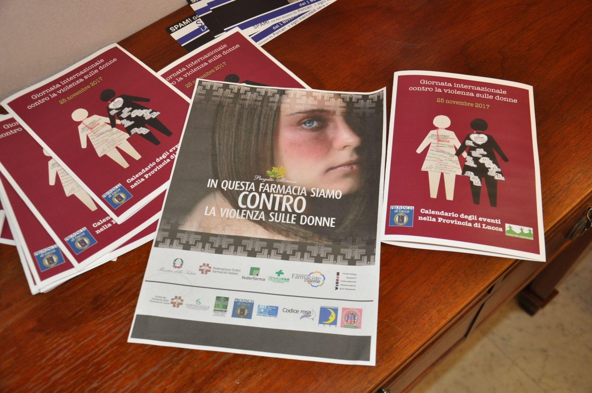 """Violenza sulle donne, al via la campagna """"Fiocco Bianco"""" in Provincia di Lucca"""
