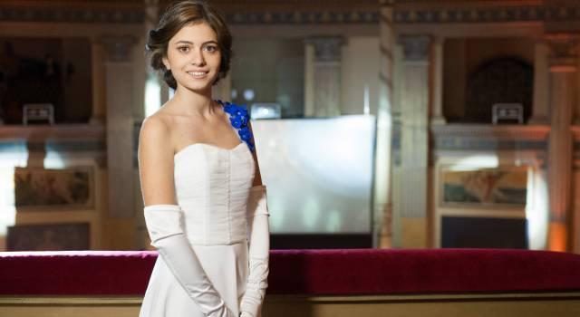 Una Versiliese al gran ballo delle debuttanti di Roma