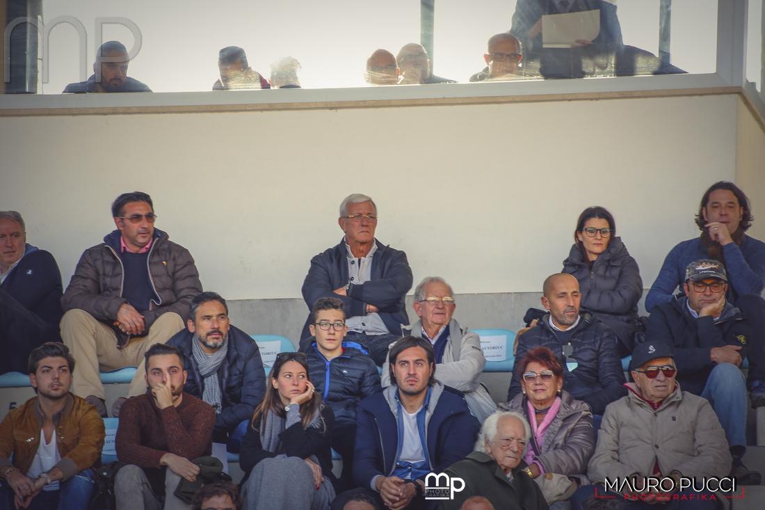 Anche l'ex ct della Nazionale Marcello Lippi al derby