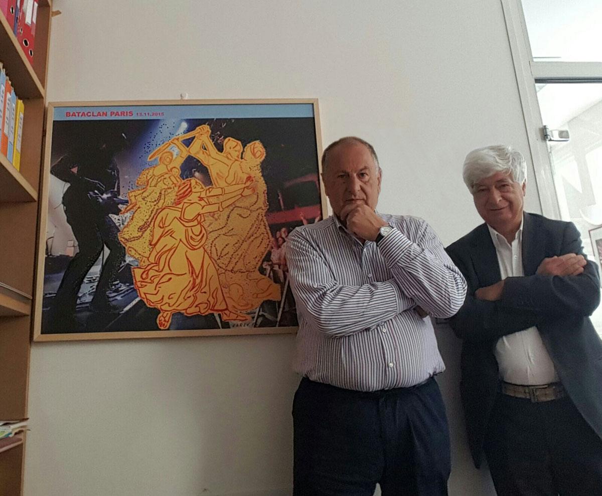 Carlo Carli rende omaggio alle vittime del Bataclan a due anni dalla strage