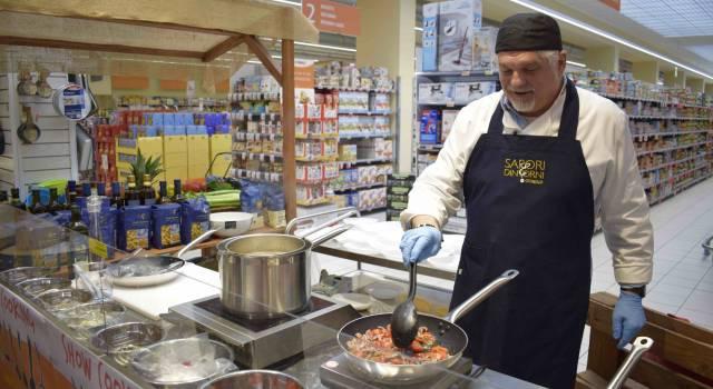 Un successo il primo show cooking alla Conad Massarosa