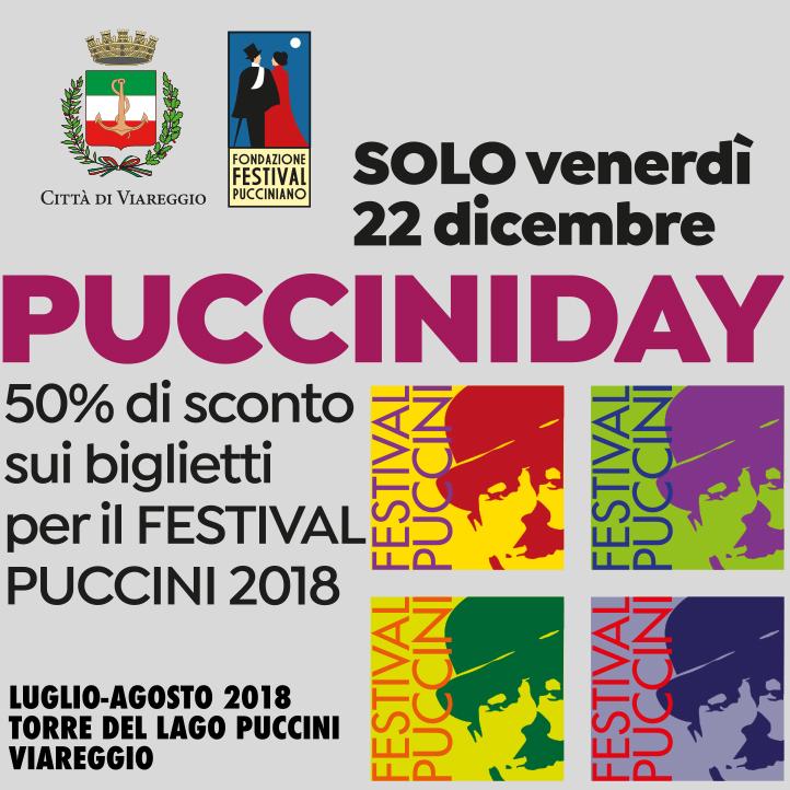 Arriva il Black Friday del Festival Puccini
