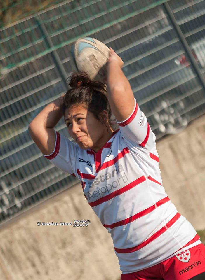 La Seravezzina Eddy Longaron convocata nella nazionale italiana di rugby femminile