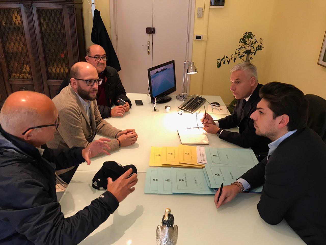 Del Ghingaro incontra i presidenti del Viareggio calcio e del CGC