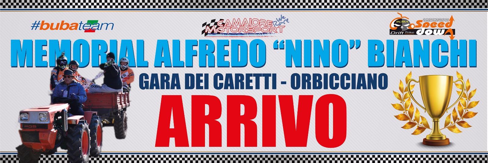 Grande commozione per il 1° Memorial Alfredo Nino Bianchi  Gara dei Caretti Orbicciano