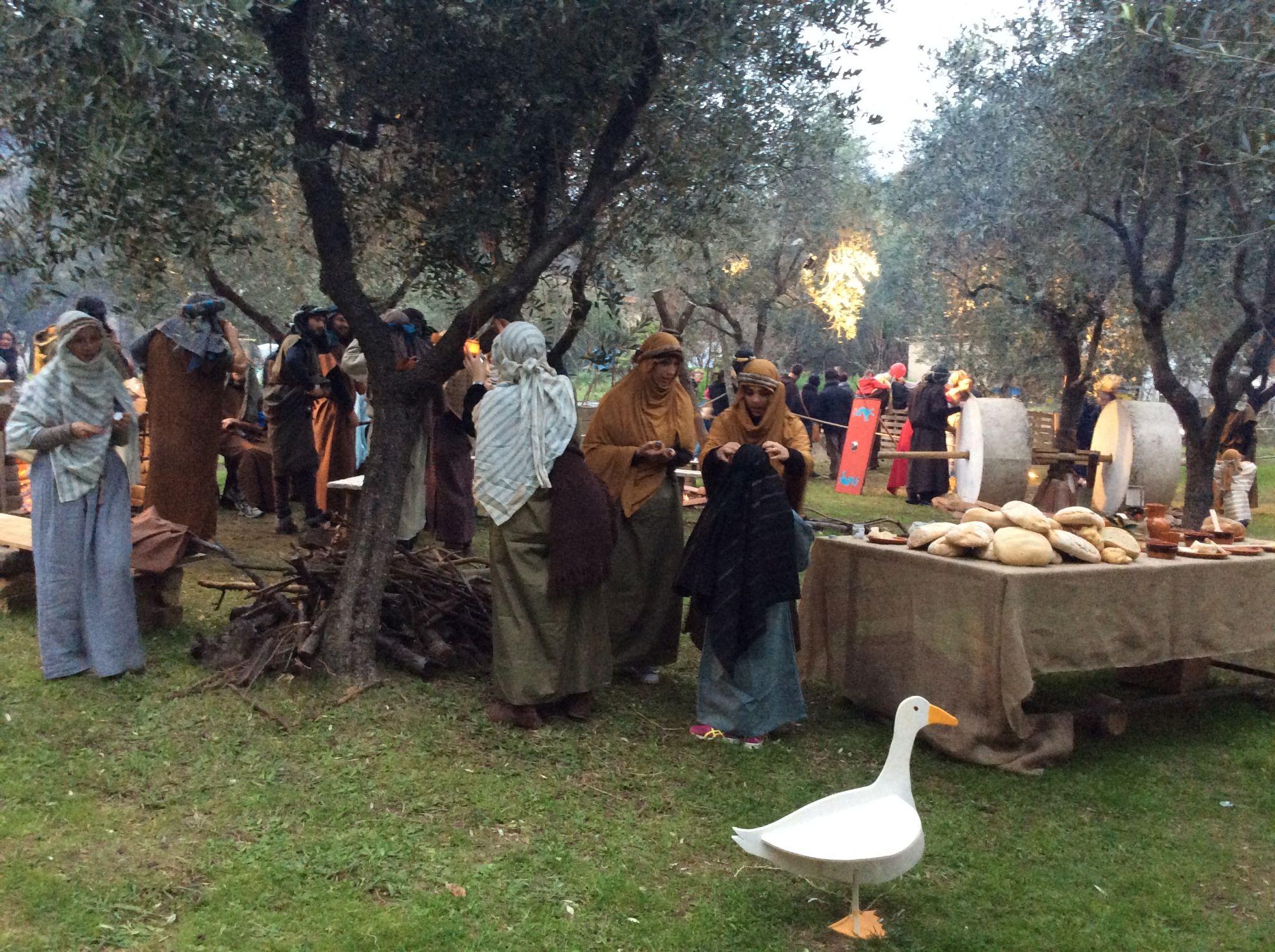 Ultimo appuntamento a Massarosa con i mercatini di Natale e il presepe vivente