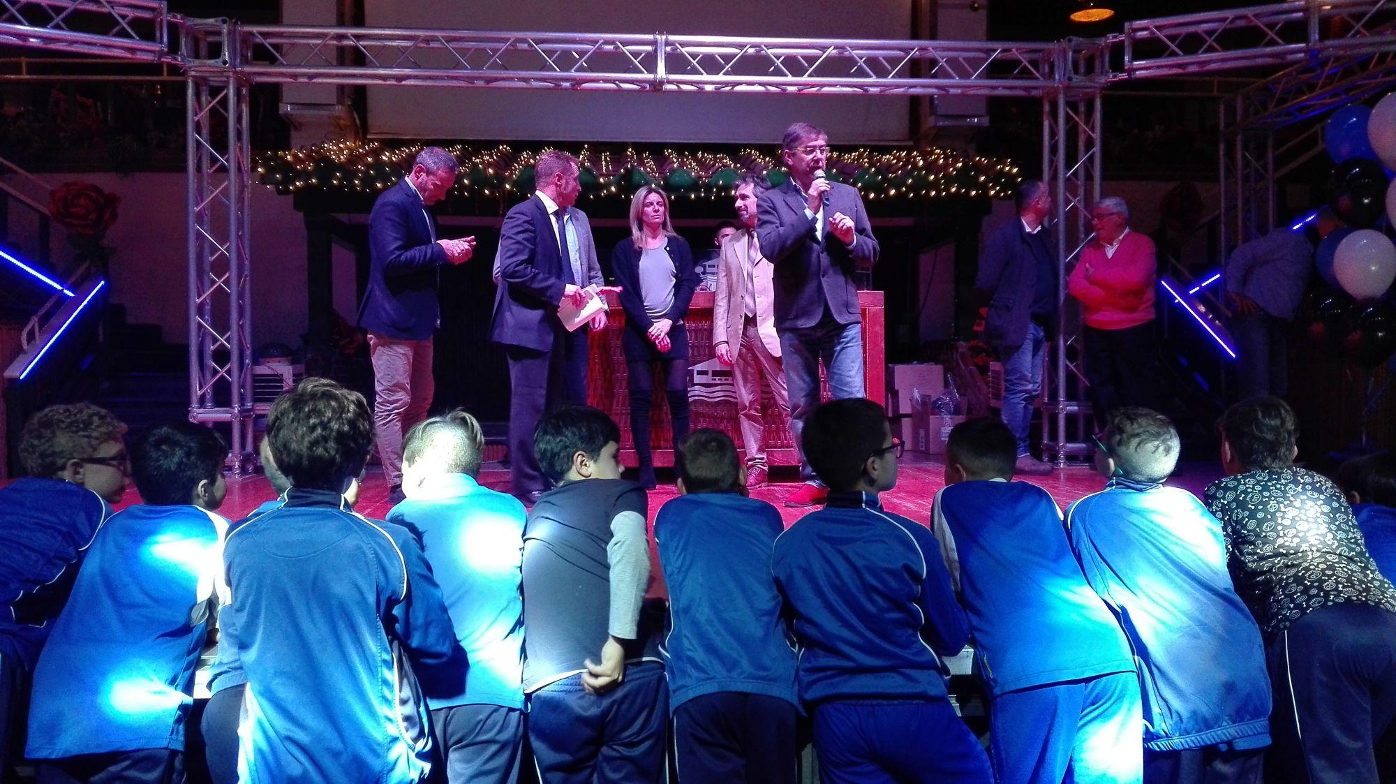 Festa di Natale della società di calcio Forte dei Marmi 2015