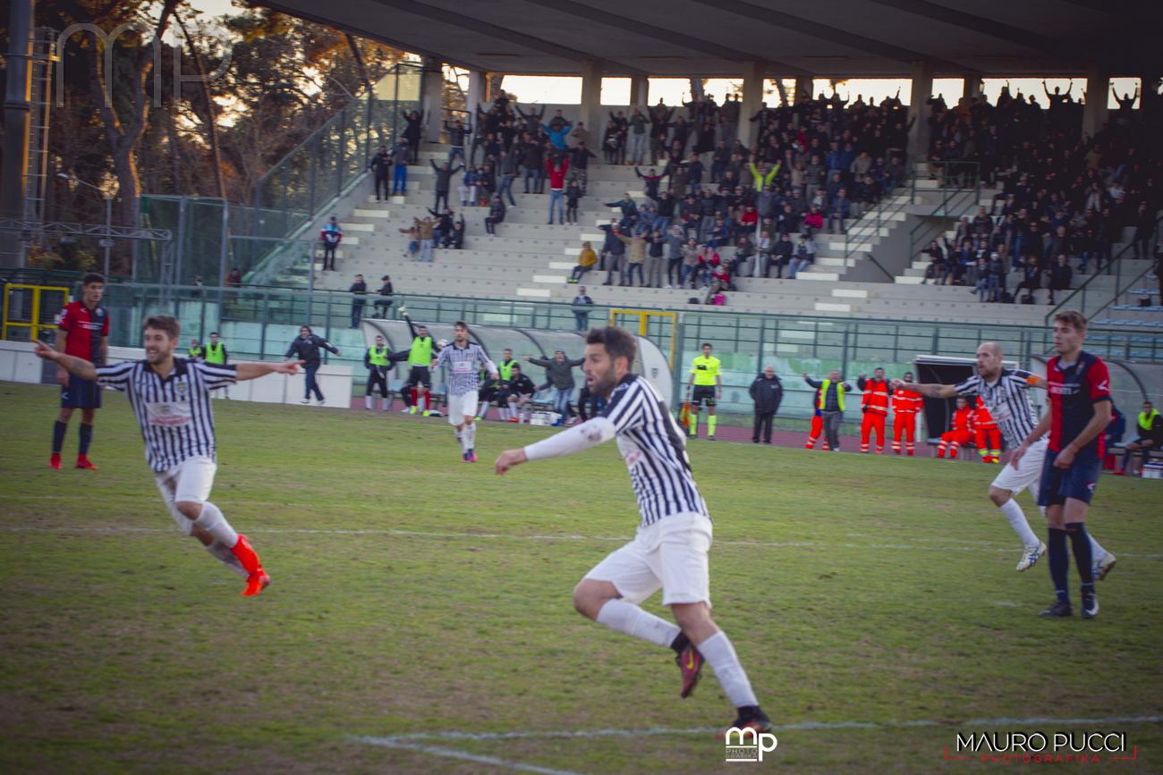 Calcio, cala il sipario sul girone di andata del campionato di serie D
